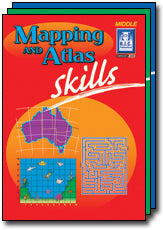 Mapping and Atlas Skills Ages 8-10