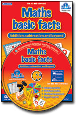Maths Basic Facts - Interactive CD-ROM Ages 6-10