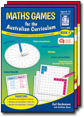 Maths Games for the Australian Curriculum Years 1-2
