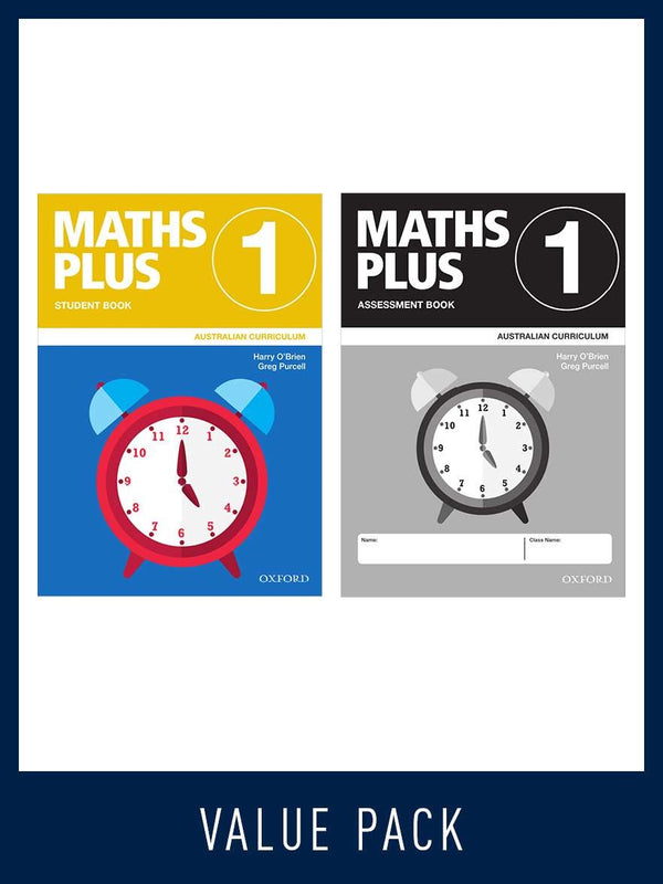 Maths Plus - Australian Curriculum Edition (National) - Student and Assessment Book 2020 Foundation