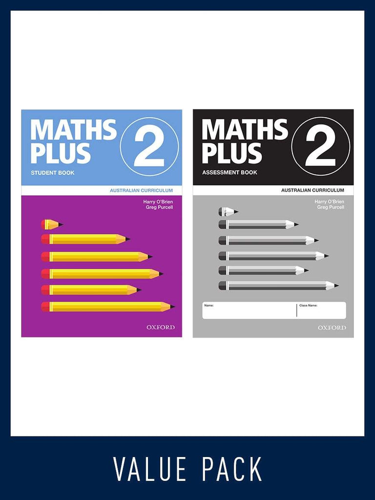 Maths Plus - Australian Curriculum Edition (National) - Student and Assessment Book 2020 Book 1