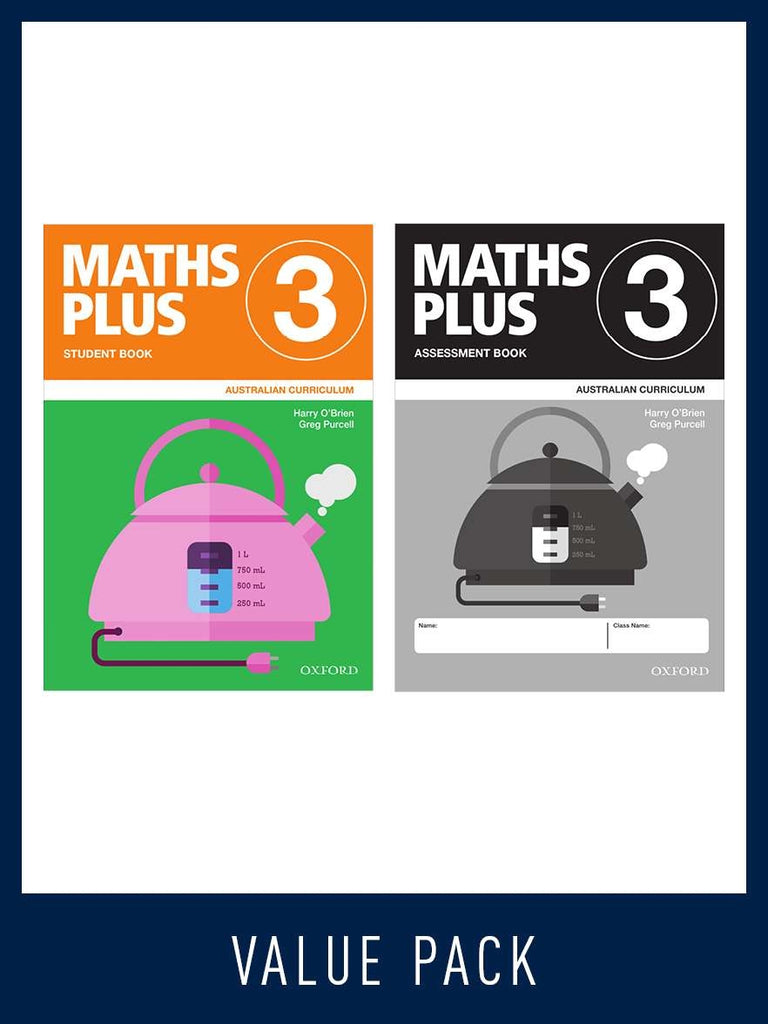 Maths Plus - Australian Curriculum Edition (National) - Student and Assessment Book 2020 Book 2