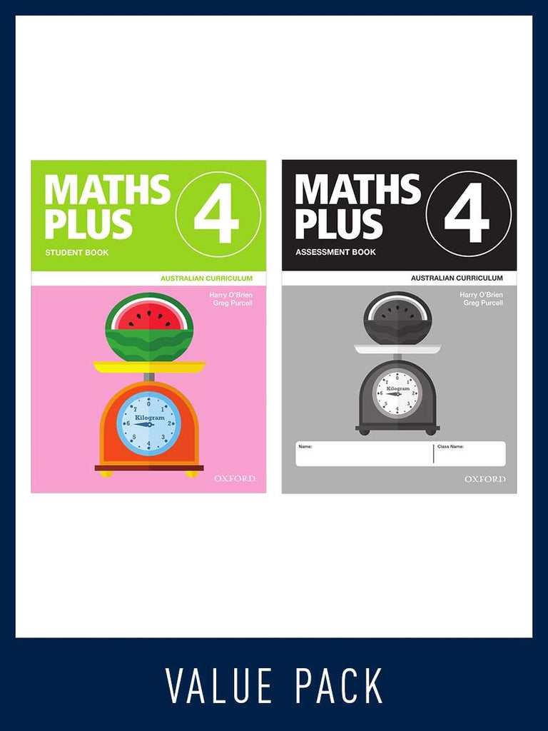 Maths Plus - Australian Curriculum Edition (National) - Student and Assessment Book 2020 Book 3