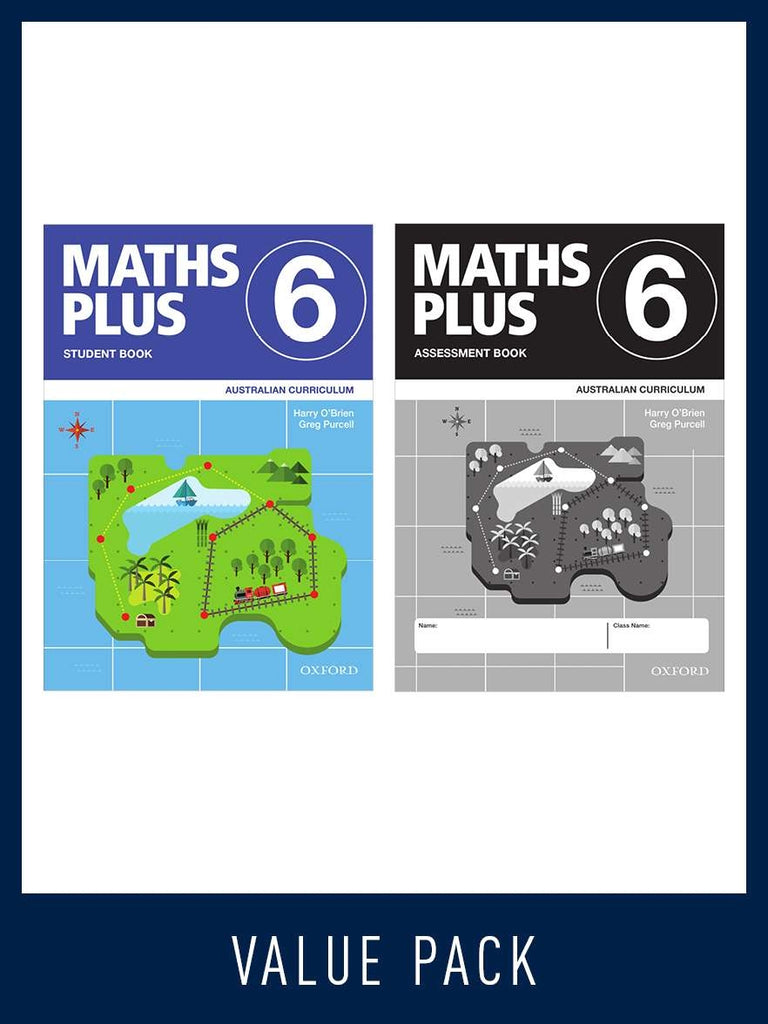 Maths Plus - Australian Curriculum Edition (National) - Student and Assessment Book 2020 Book 4