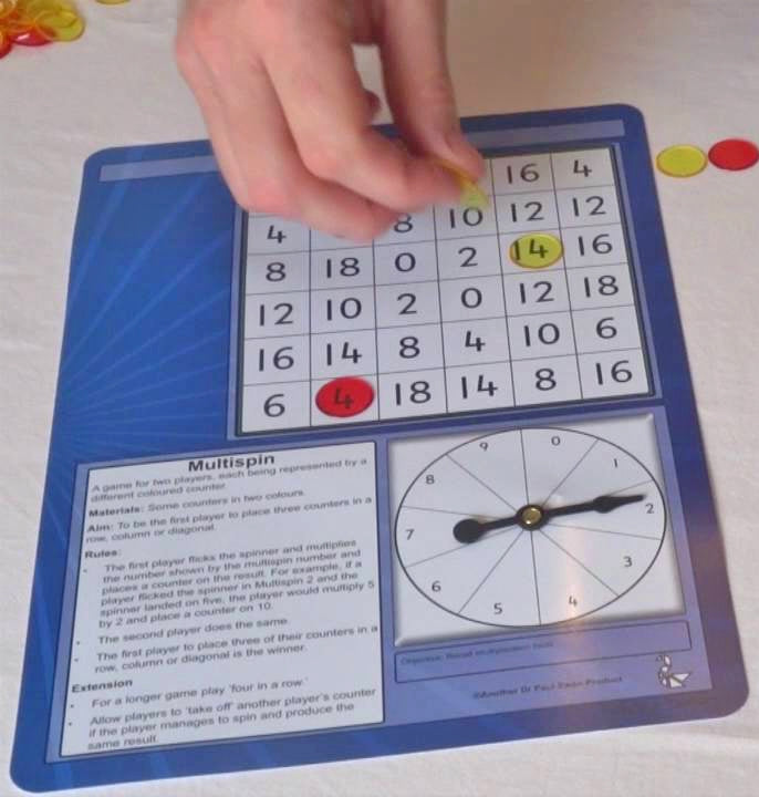 Multispin Tables Game