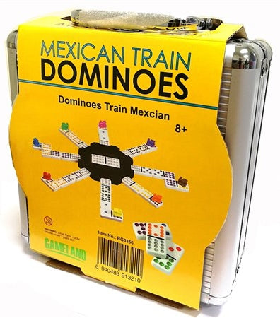 Mexican Train Dominoes In Case