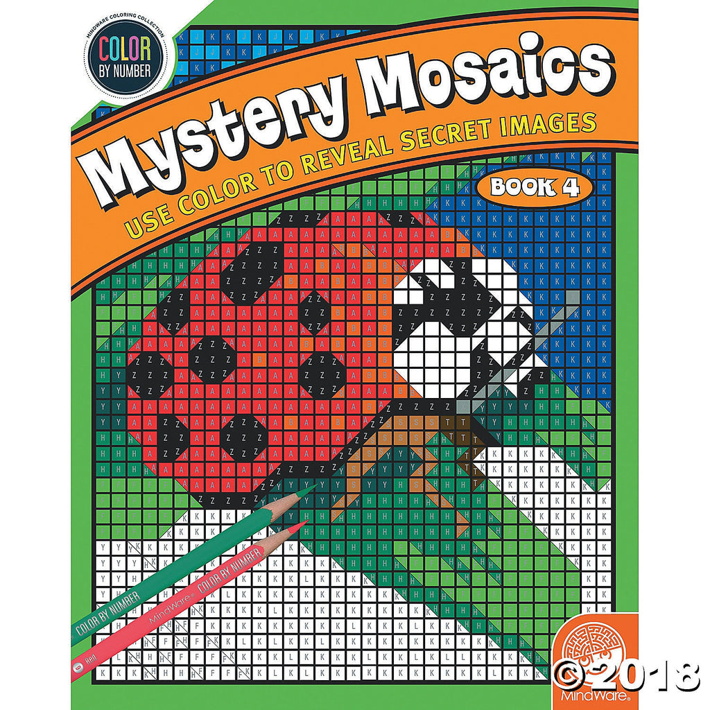 Colour by Numbers - Mystery Mosaics 4