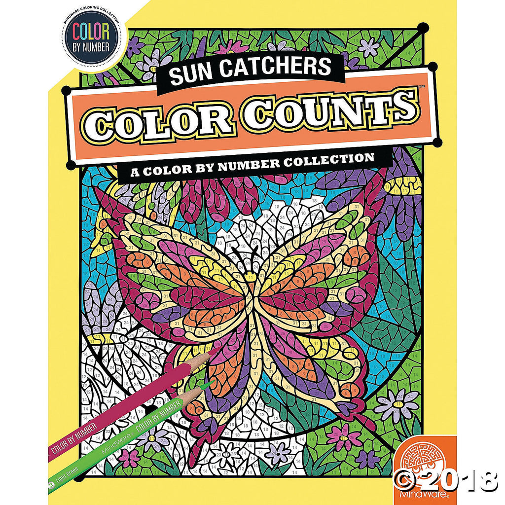 Colour Counts - Suncatchers