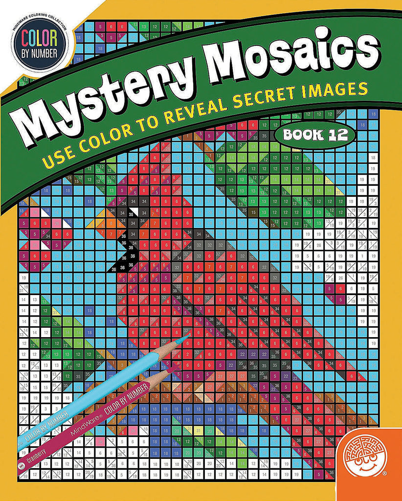 Colour by Numbers - Mystery Mosaics 12