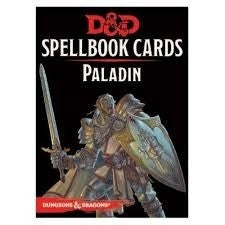 Paladin Deck - D&D Spellbook Cards 2017 Edition (69 Cards)