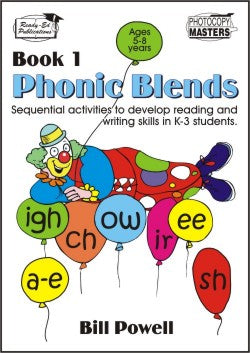 Phonic Blends Book 1