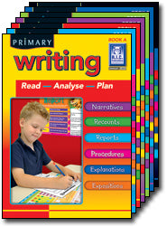 Primary Writing Book A