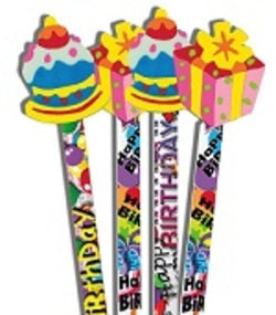 Pencil Topper Birthday - Pencils