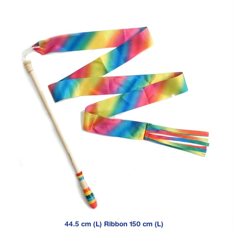 Rainbow Ribbon Stick