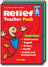 Relief Teacher Pack Ages 5-8