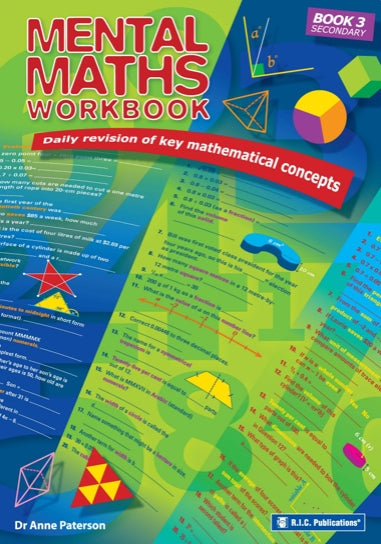 Mental Maths Workbook - Lower Secondary Book 1
