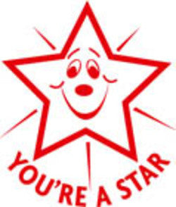 Youre a Star - Merit Stamp