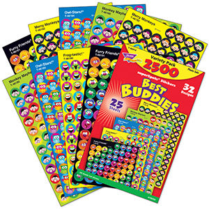 Best Buddies Collections - Super Spot Stickers Value Pack