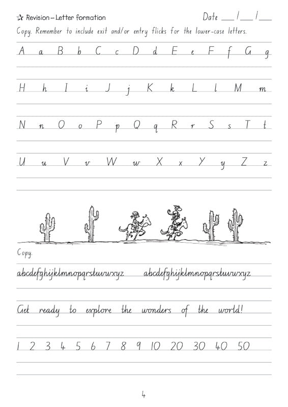 Targeting Handwriting NSW Student Book