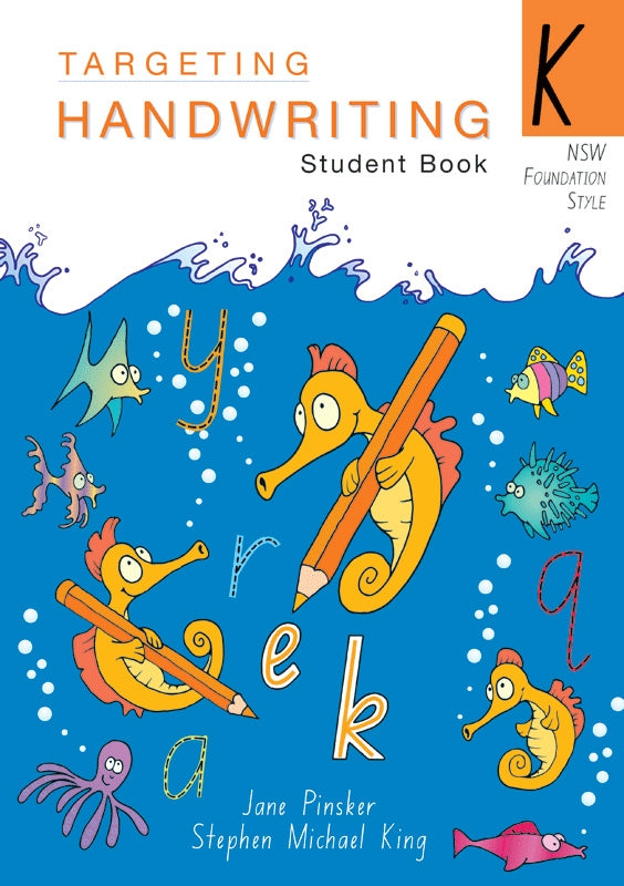Targeting Handwriting NSW Student Book Foundation