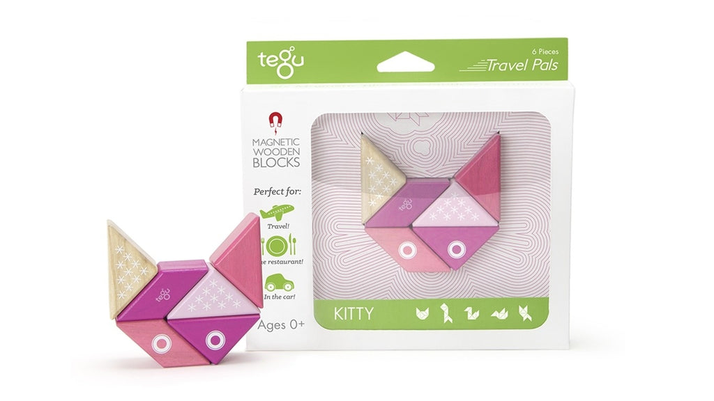 Tegu - Kitty - Travel Pals 6pc