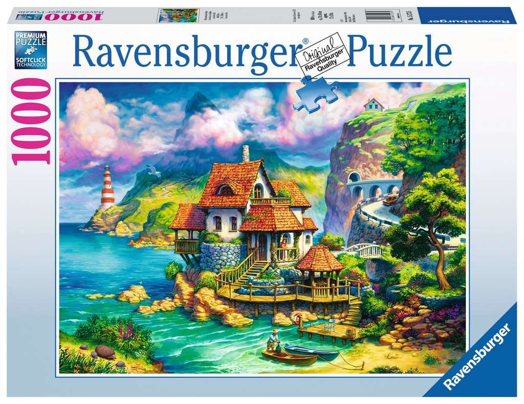 The Cliff House Puzzle - 1000pc