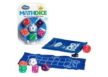 Math Dice Jr Game - ThinkFun