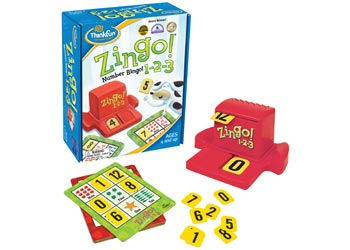 Zingo 1-2-3 Game - ThinkFun