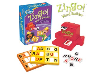Zingo Word Builder Game - ThinkFun