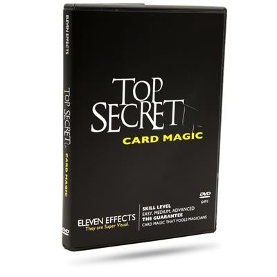 Top Secret Card Magic - DVD