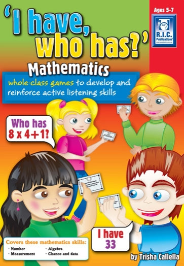 I have who has – Mathematics