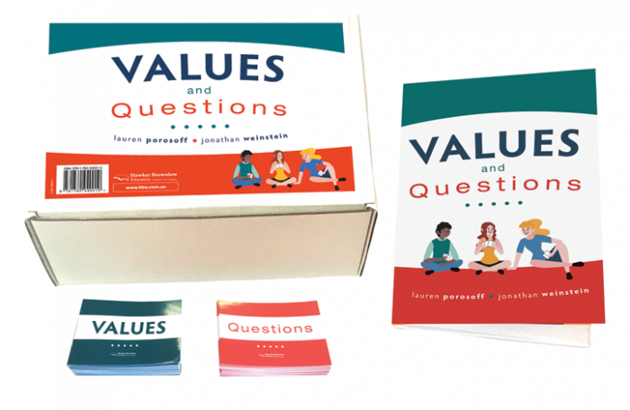 Values and Questions Card Deck and Instruction Booklet