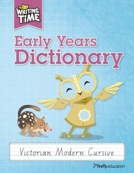 Writing Time NSW Dictionary - Early Years