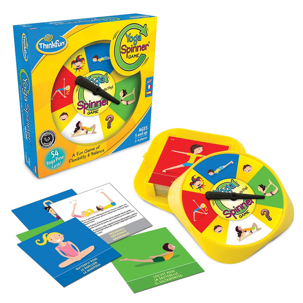 Yoga Spinner Game - ThinkFun