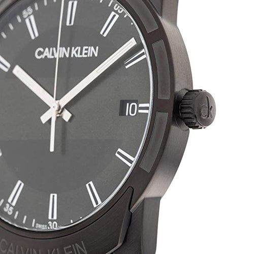 Calvin Klein Evidence Quartz Black Dial Men's Watch K8R114D1