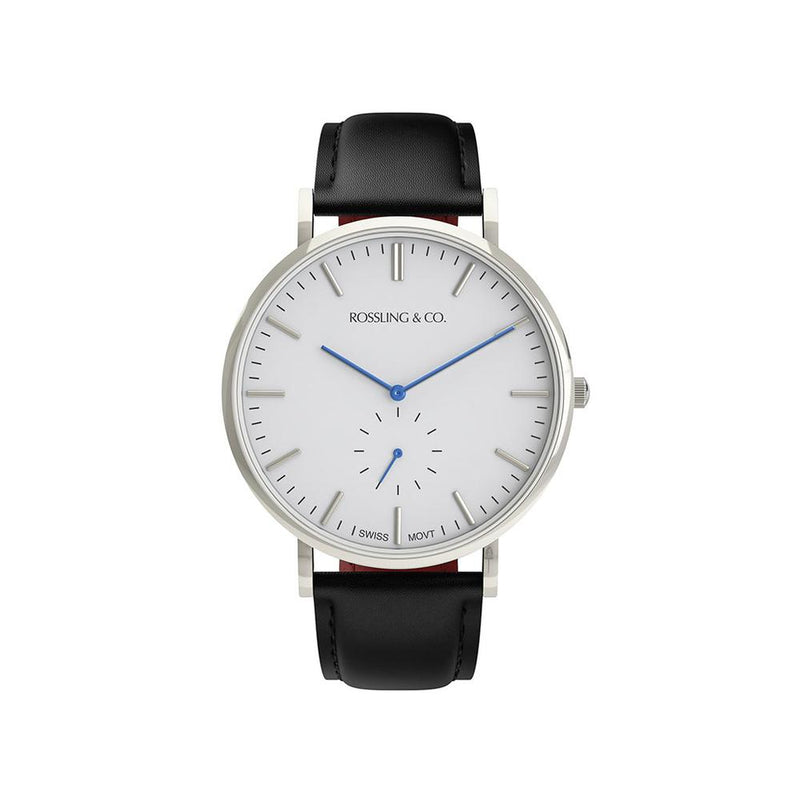 Rossling & Co. Continental 40MM Mens Watch - Leather