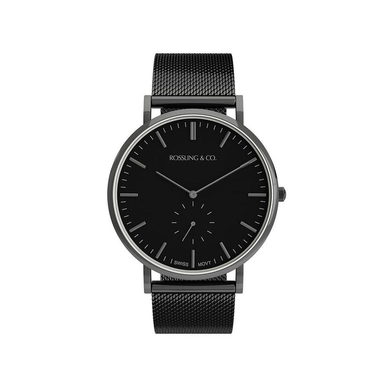 Rossling & Co. Continental 40MM Mens Watch - Mesh