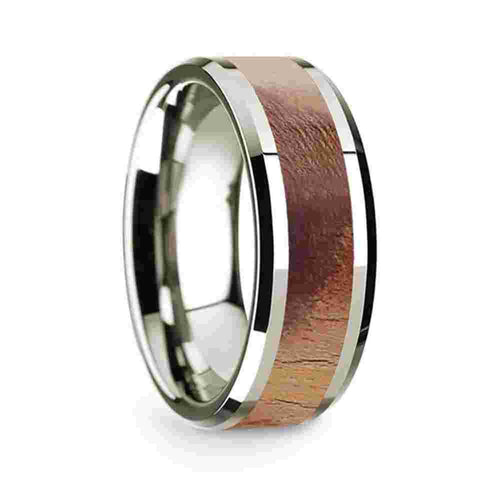 Thorsten-14k-White-Gold-Polished-Beveled-Edges-Mens-Wedding-Band-with-Olive-Wood-Inlay-8mm-WG1678-BEOW