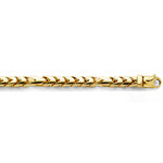 William Francis 14K Yellow Gold Franco Chain Necklace 6mm