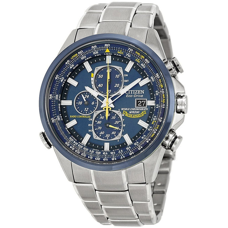Citizen Eco-Drive Blue Angels Chronograph Men's Watch AT8020-54L