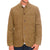 Mens Vintage Loose Multi Pockets Corduroy Single Breasted Long Sleeve Jacket