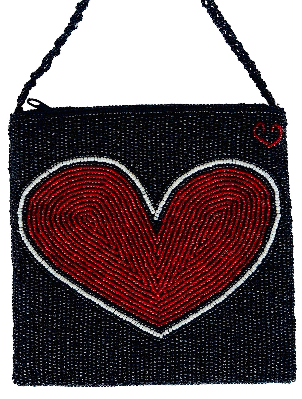 Black Heart Disco Bag