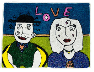 Picasso LOVE Placemat