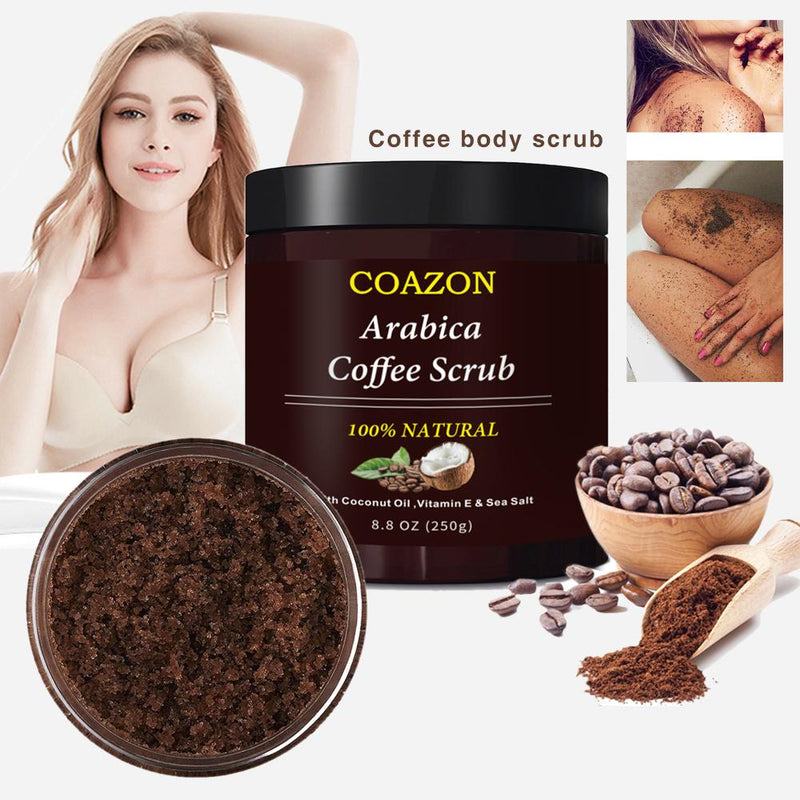 Coffee Body Exfoliation Facial Exfoliator