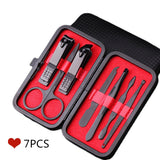 7Pcs Black Stainless Steel Tools Set