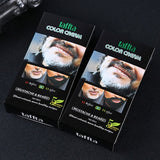 100% Mustache Beard Cream Color