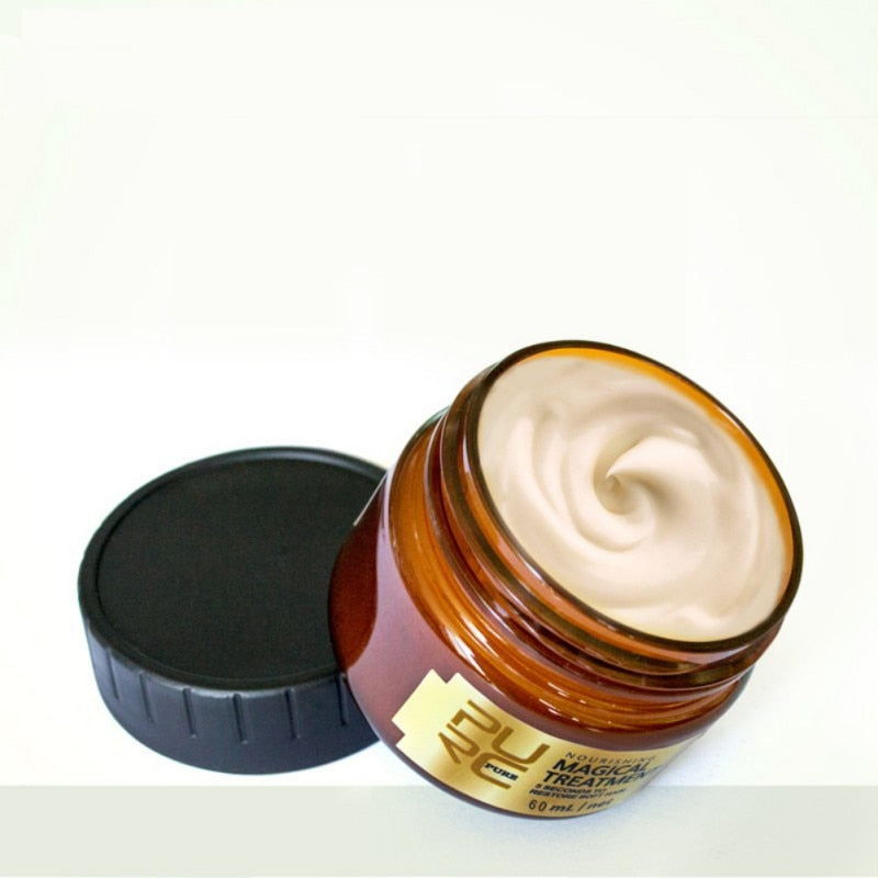 Treatment mask 5 seconds Repairs damage