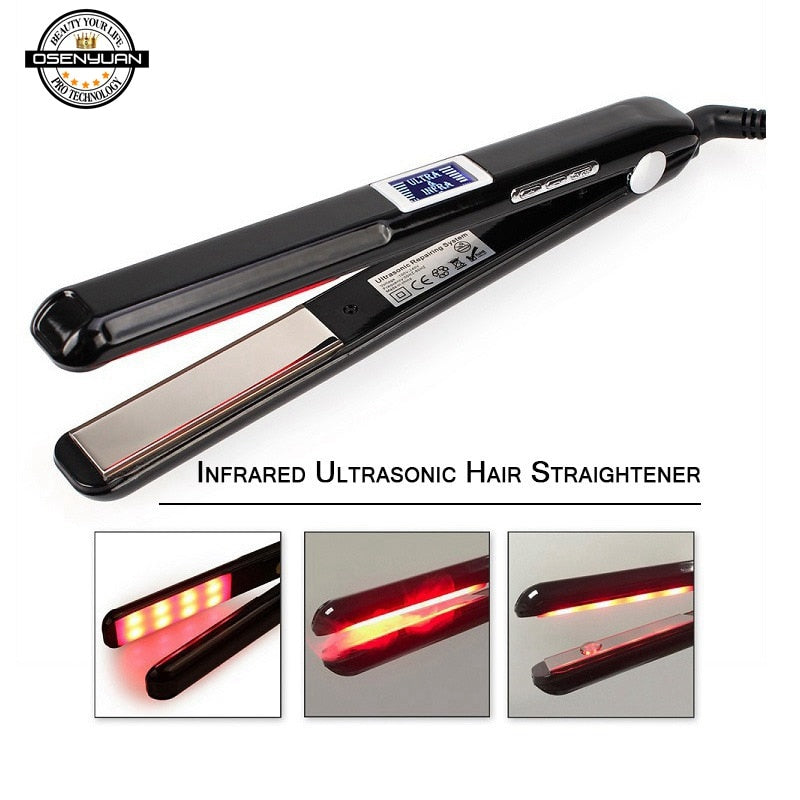 Ultrasonic & Infrared Hair Care Iron