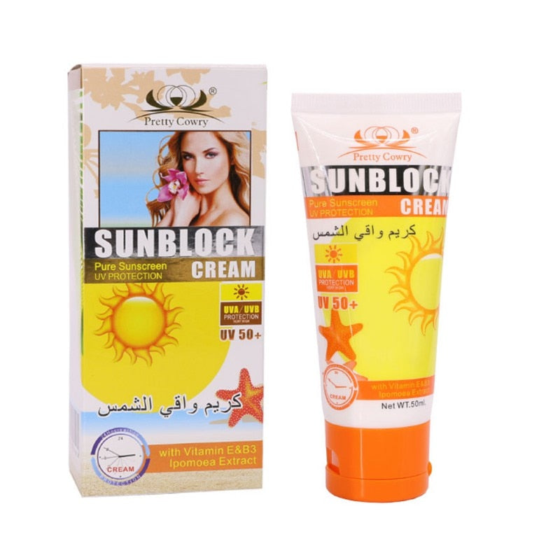Face Skin Care Sun Protection Cream
