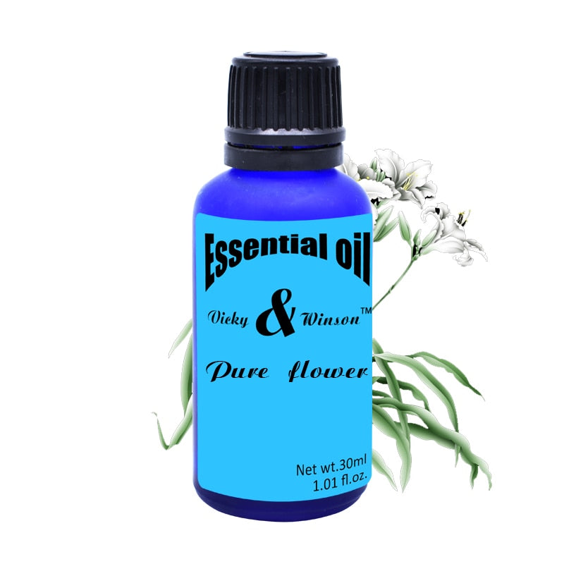 Pure flower aromatherapy essential oils